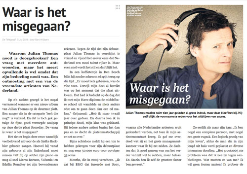 Interview Julian Telegraaf