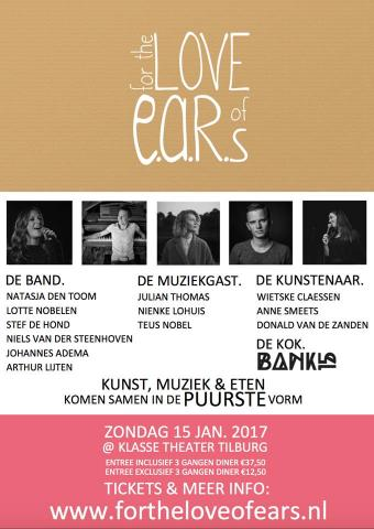 Flyer For the LOVE of E.A.R.s.